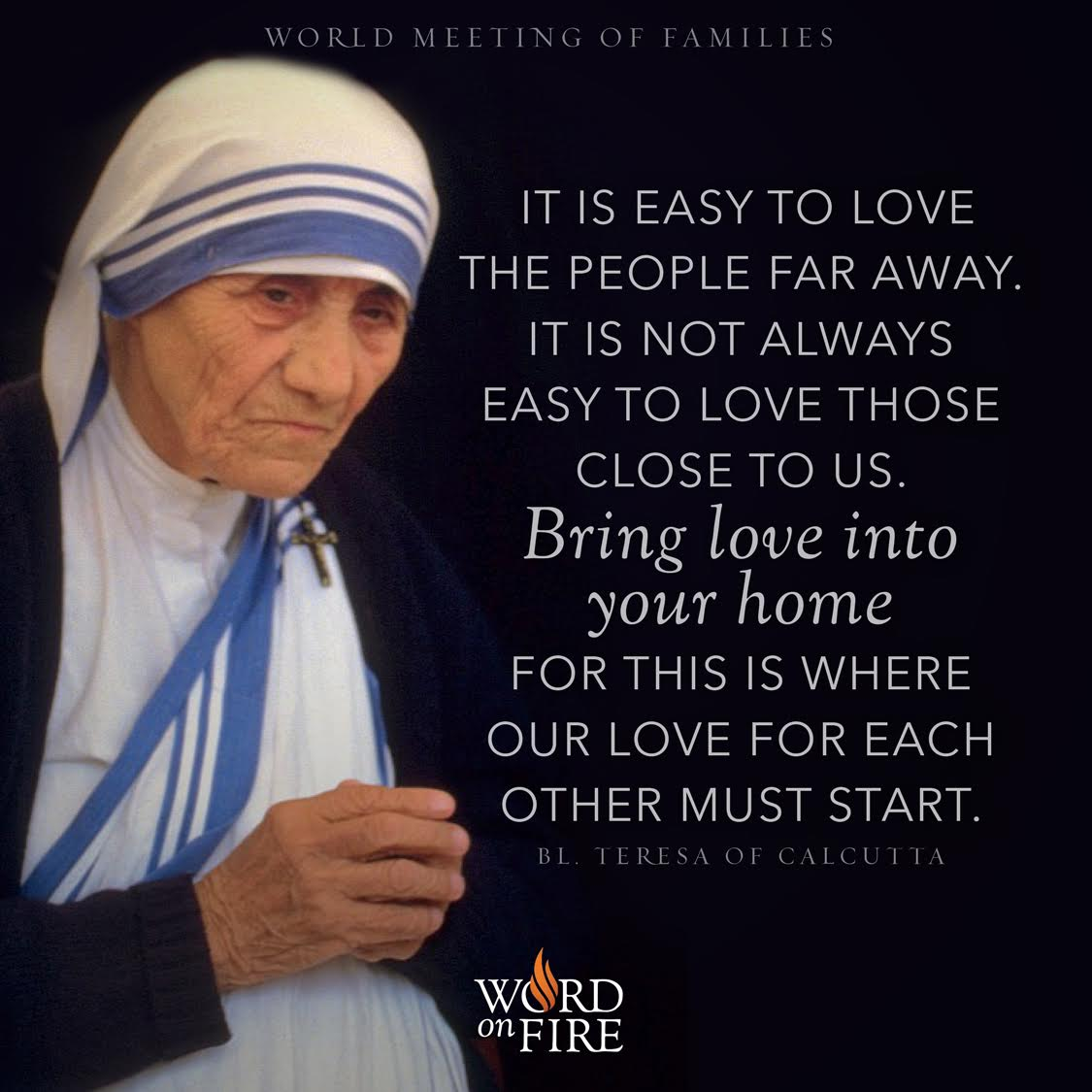Mother Teresa Marriage Quotes: FREE Daily Gospel Reflections From Bishop Robert Barron